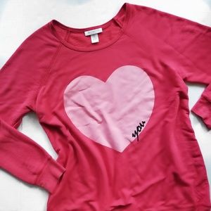 Motherhood Maternity Women's Heart You Sweater